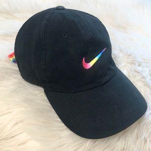 Rainbow Nike Cap